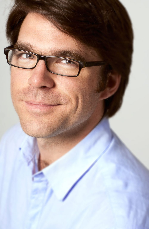 Portrait individuel de gens affaire / portrait de profil professionnel, éclairage studio