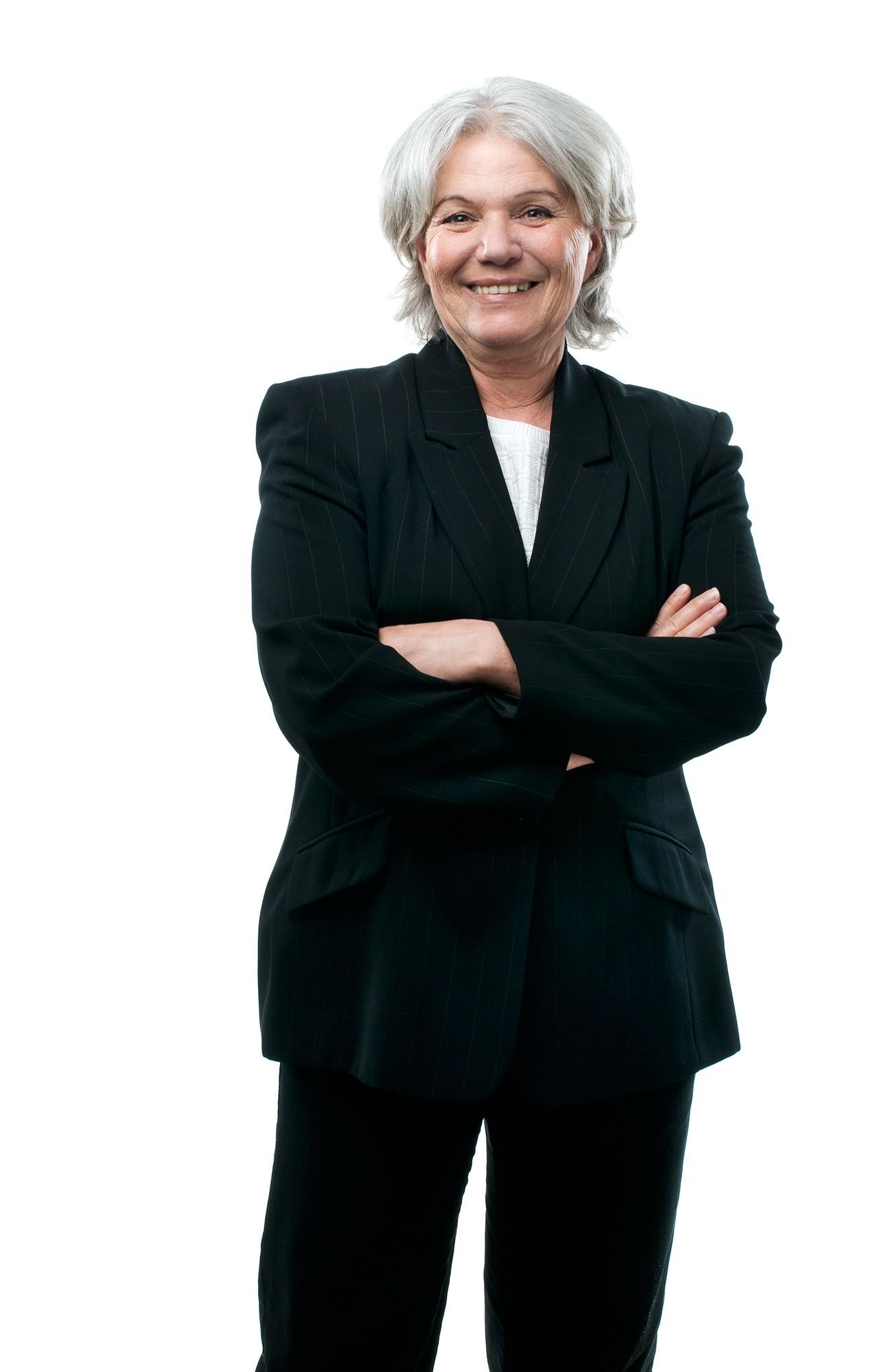 Portrait d'une femme d'affaire / Photographie corporative, client: CEP Sintra