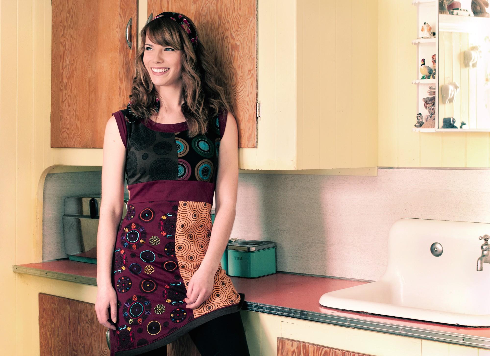 Photographie pour campagne publicitaire / Collection automne-hiver 2012 Adria Mode