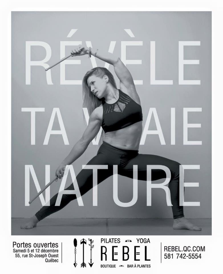 Photographie publicitaire pour studio d'entraînement / Studio Ambre-Rebel