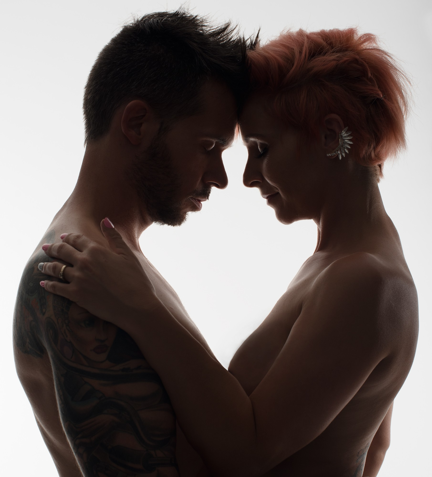 Portraits de couples en studio / 1