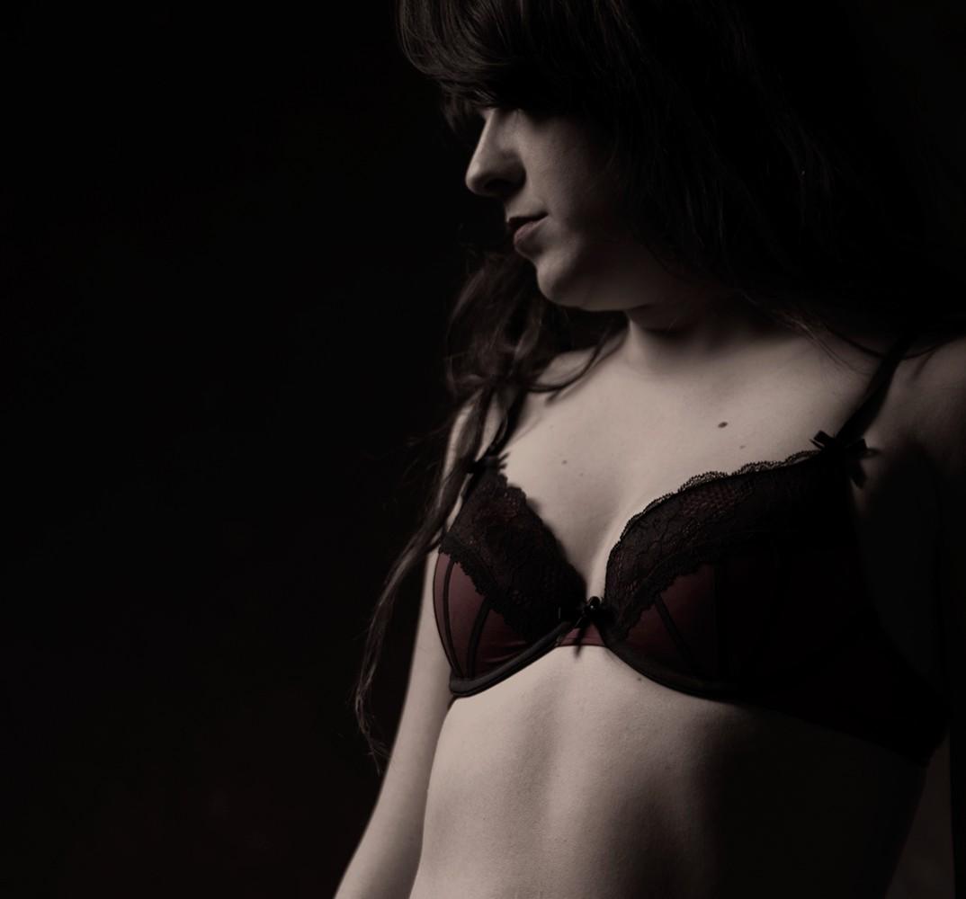 Séance photographie sensuelle en studio dans Portneuf / photo de charme avec lingerie