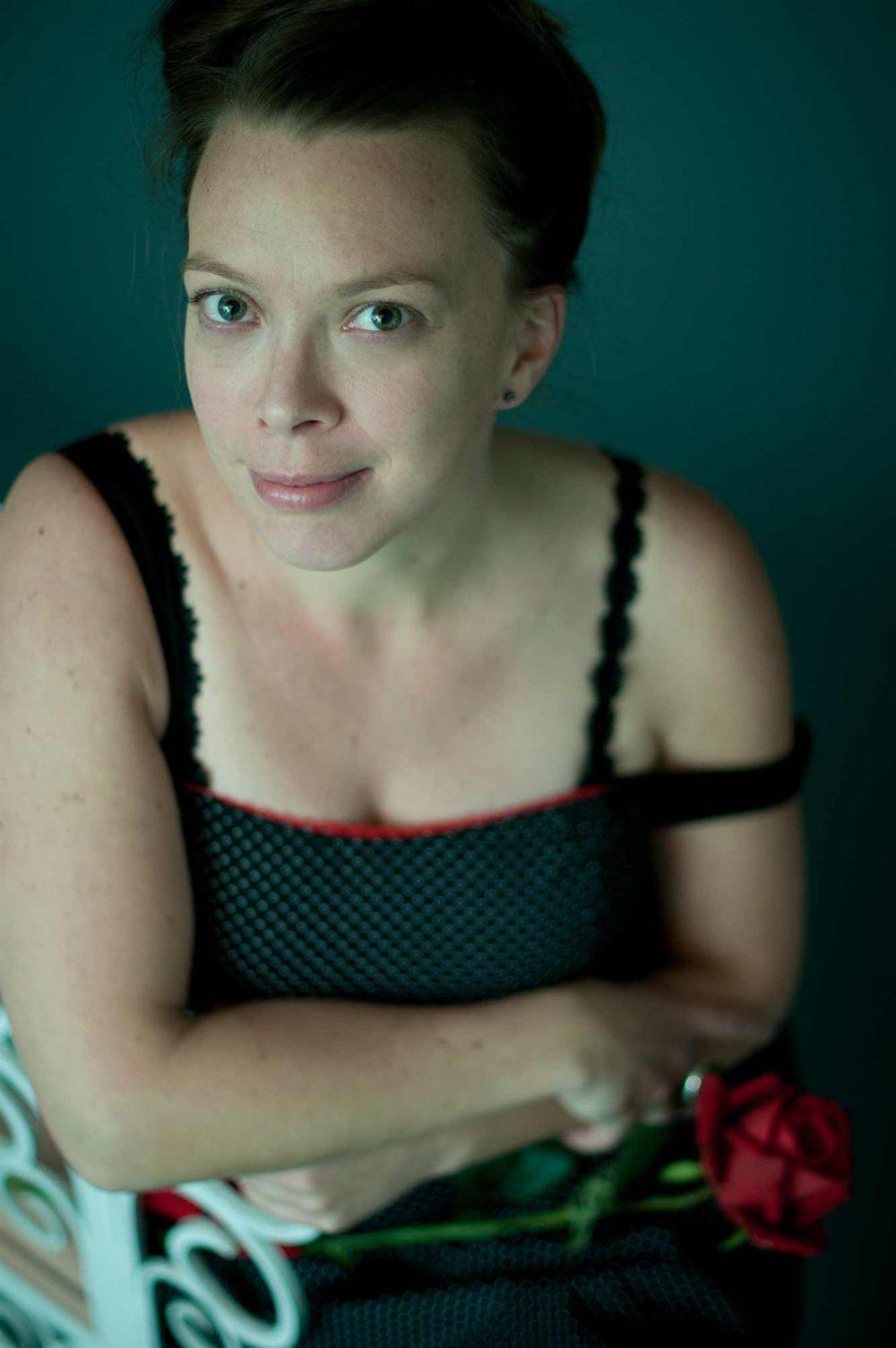 Photo artistique d'une femme au studio de Donnacona / Photographie de portrait artistique