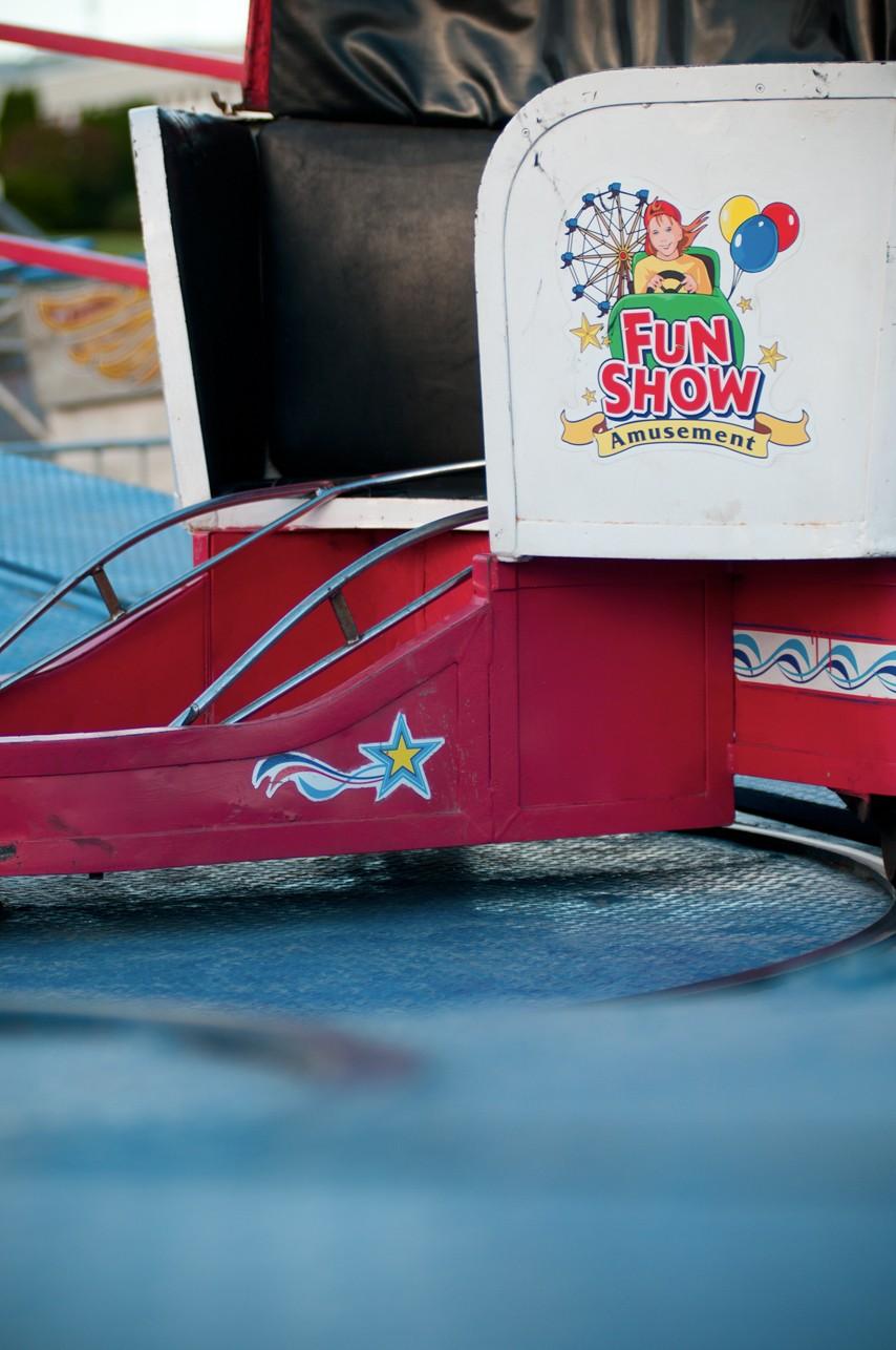 Photo d'un manège pivotant du Fun Show / Expo Donnacona, Portneuf, Québec