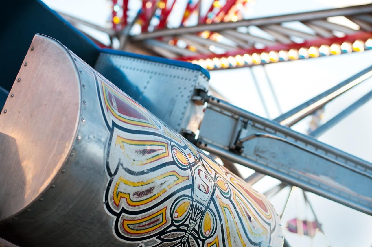 Manège de la foire ambulante Fun Show / Expo Donnacona, Portneuf