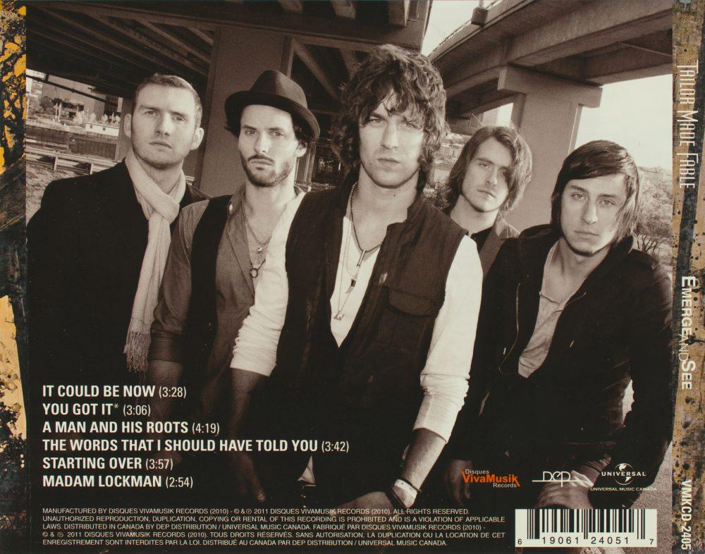 Photo extérieure de groupe de musique pour illustrer CD et affiches / Client: Tailor Made Fable
