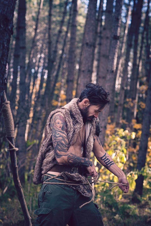 Portraits / concept thématique nordique, viking